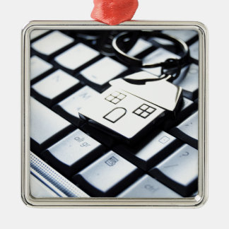 Keys for a new house christmas ornament