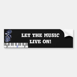 Key's Lof Love_ Bumper Sticker