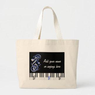 Key's Lof Love_ Jumbo Tote Bag