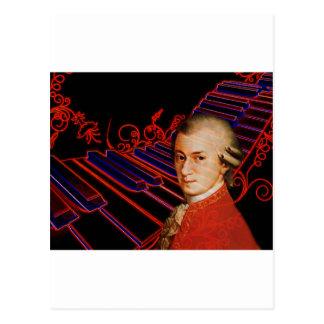 Keys of Mozart_ Postcard