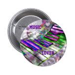 Keys of my heart#2_ pinback button