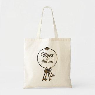 Keys of Success Budget Tote Bag