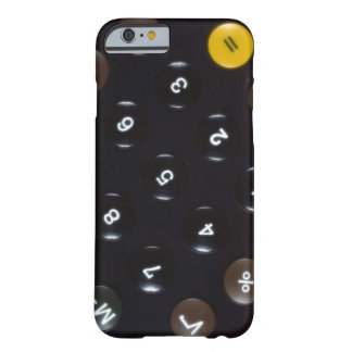 Keys on a calculator barely there iPhone 6 case