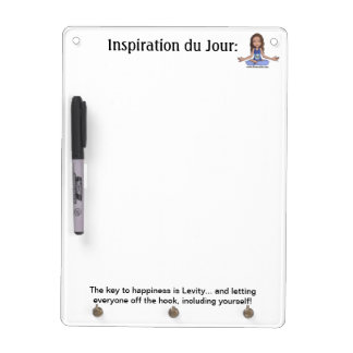Keys to Happiness Dry Erase Board