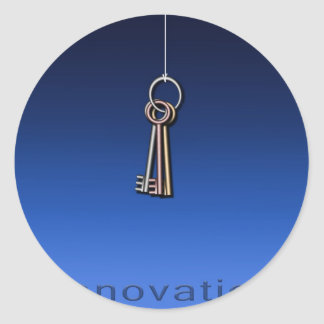 Keys to Innovate Sticker