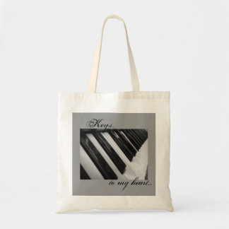 Keys To My Heart Tote Bag