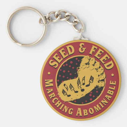Keys to the Abominable Basic Round Button Key Ring