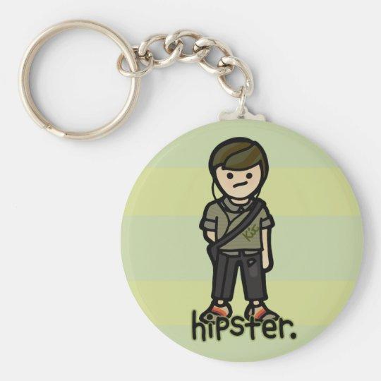 keys to the . basic round button key ring