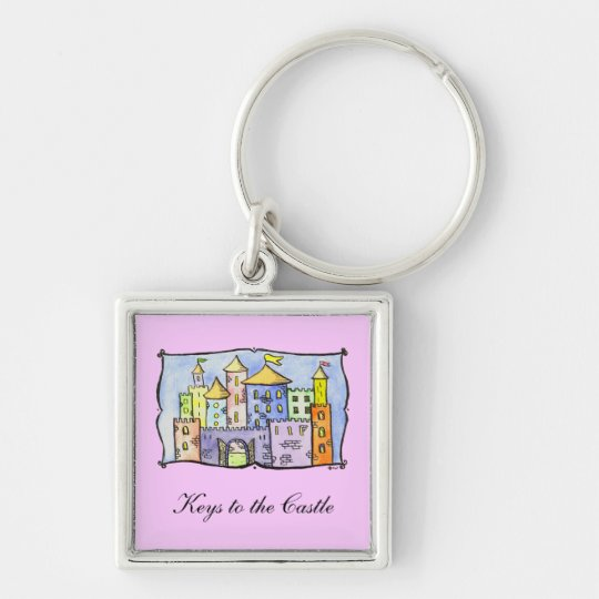 Keys to the Castle Key Ring