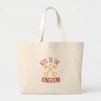 Keys To The Kingdom Jumbo Tote Bag