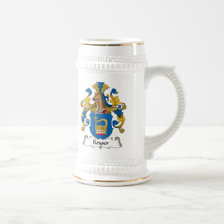 Keyser Family Crest Beer Stein