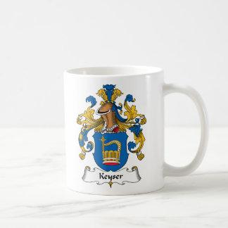 Keyser Family Crest Basic White Mug