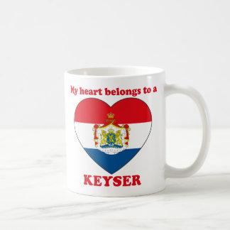 Keyser Basic White Mug