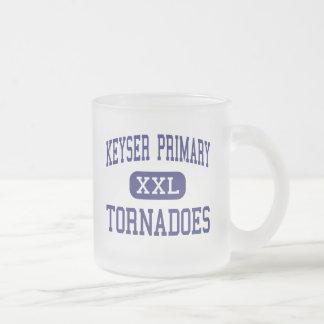 Keyser Primary tornadoes Middle Keyser 10 Oz Frosted Glass Coffee Mug