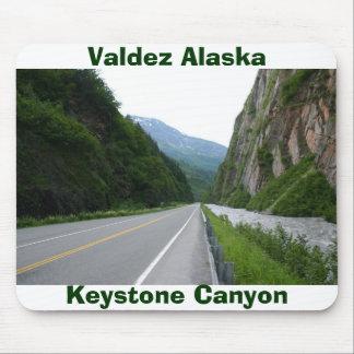 Keystone Canyon Valdez, Keystone Canyon, Valdez... Mouse Pad