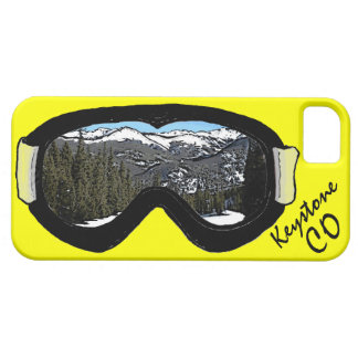 Keystone Colorado black goggles iphone 5 case