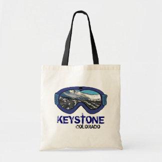Keystone Colorado blue snow goggle reusable bag