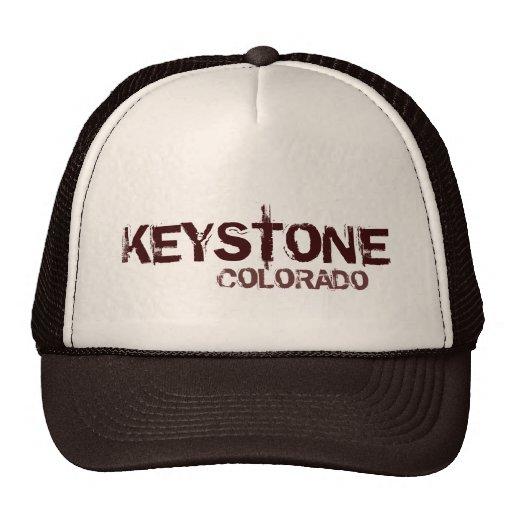 Keystone Colorado simple brown theme hat