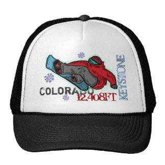 Keystone Colorado snowboard elevation hat