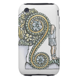 Keystone decoration from ancient Roman Arch of iPhone 3 Tough Covers