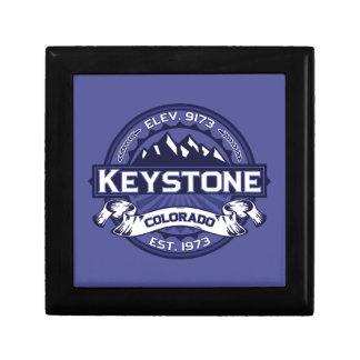 Keystone Midnight Small Square Gift Box