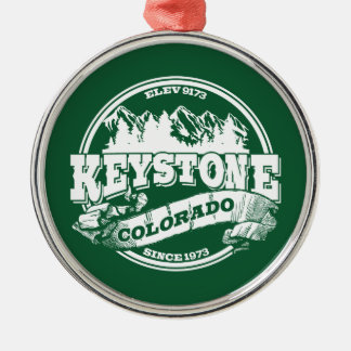 Keystone Old Circle Green Christmas Ornament