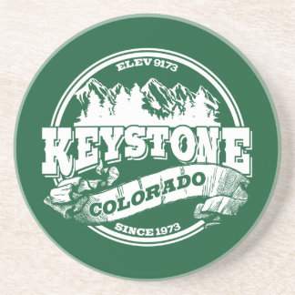 Keystone Old Circle Green Coaster