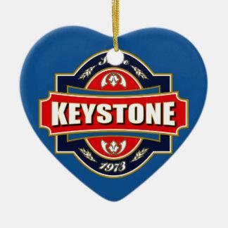 Keystone Old Label Christmas Ornament