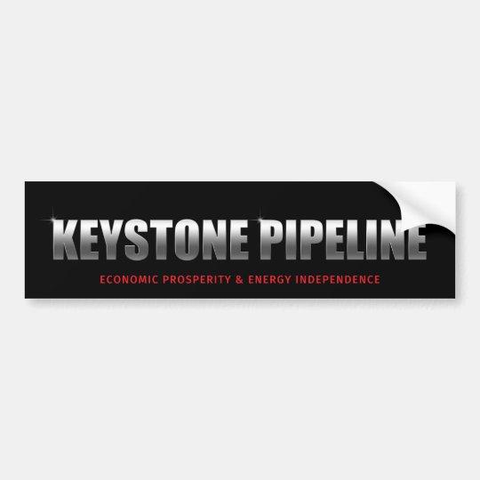 Keystone Pipeline Bumper Sticker