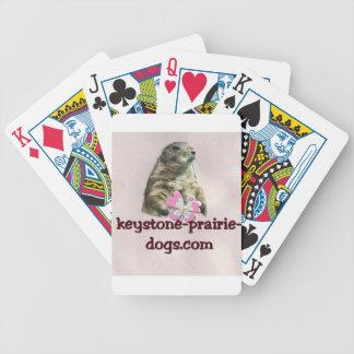 Keystone Prairie Dogs caption Bicycle Card Decks