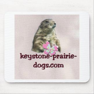 Keystone Prairie Dogs caption Mousepad