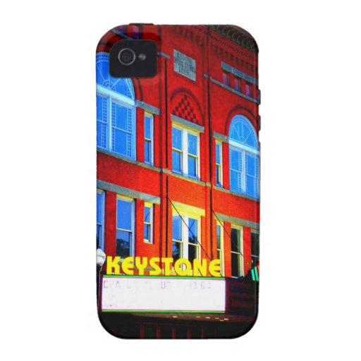 KEYSTONE THEATRE - TOWANDA, PENNSYLVANIA VIBE iPhone 4 CASE
