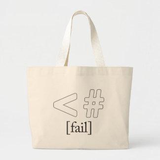 Keystroke (heart) Fail < # Bags