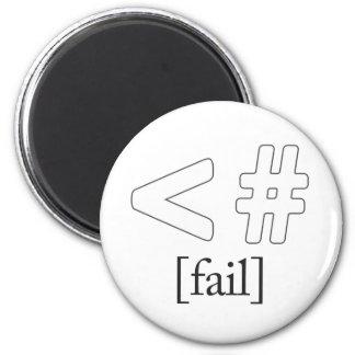 Keystroke (heart) Fail < # Refrigerator Magnets