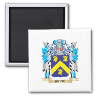 Keyte Coat of Arms - Family Crest Square Magnet