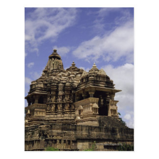 Khajuraho Temple, Madhya Pradesh, India Postcard