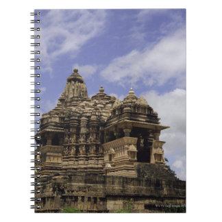 Khajuraho Temple, Madhya Pradesh, India Spiral Notebook