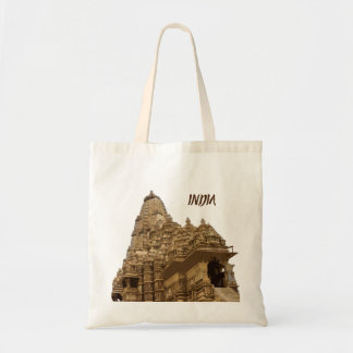 Khajuraho Temple Tote Bag