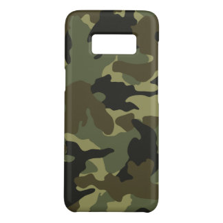 Khaki Camo Military Camouflage Samsung S8 Cases