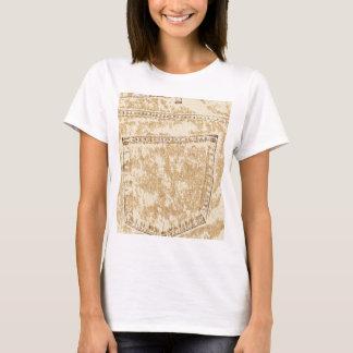 Khaki Denim Pocket T-Shirt