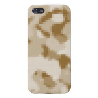 Khaki Digital Camo; Camouflage iPhone 5/5S Cases