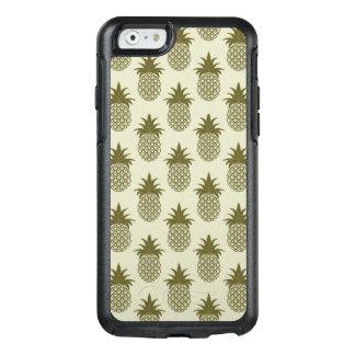 Khaki Pineapple Pattern OtterBox iPhone 6/6s Case