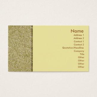 Khaki Sandstone Profile Card