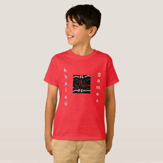khaled games - season 1 - kids t-shirt