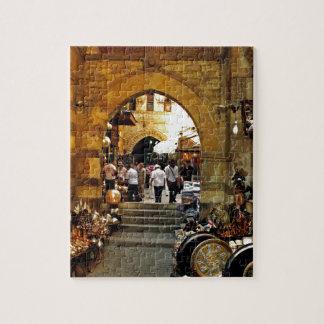 Khan al-khalili market jigsaw puzzle