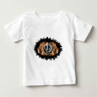 Khanda Lions Baby T-Shirt