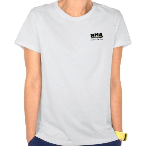 Khan's Gym MMA girls shirt