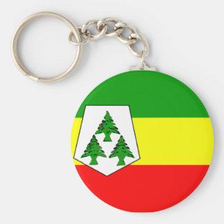 Khenifra, Morocco Basic Round Button Key Ring