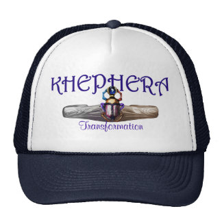 Khephera (Khefera/Khepri) Beetle of transformation Trucker Hats