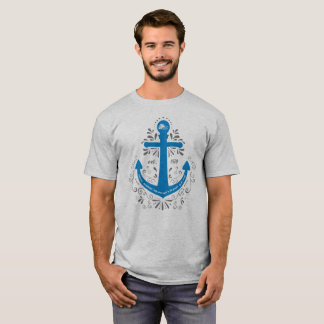 KHH Anchor Light Grey Tshirt